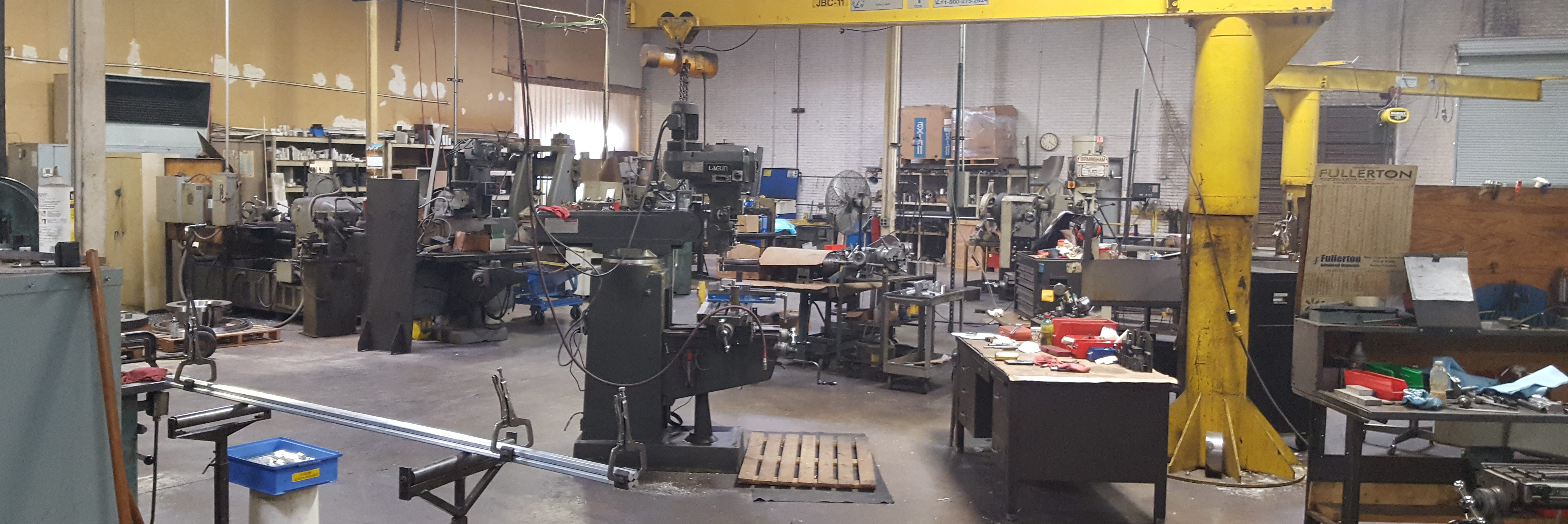 Our CNC & metal machine shop in dallas tx