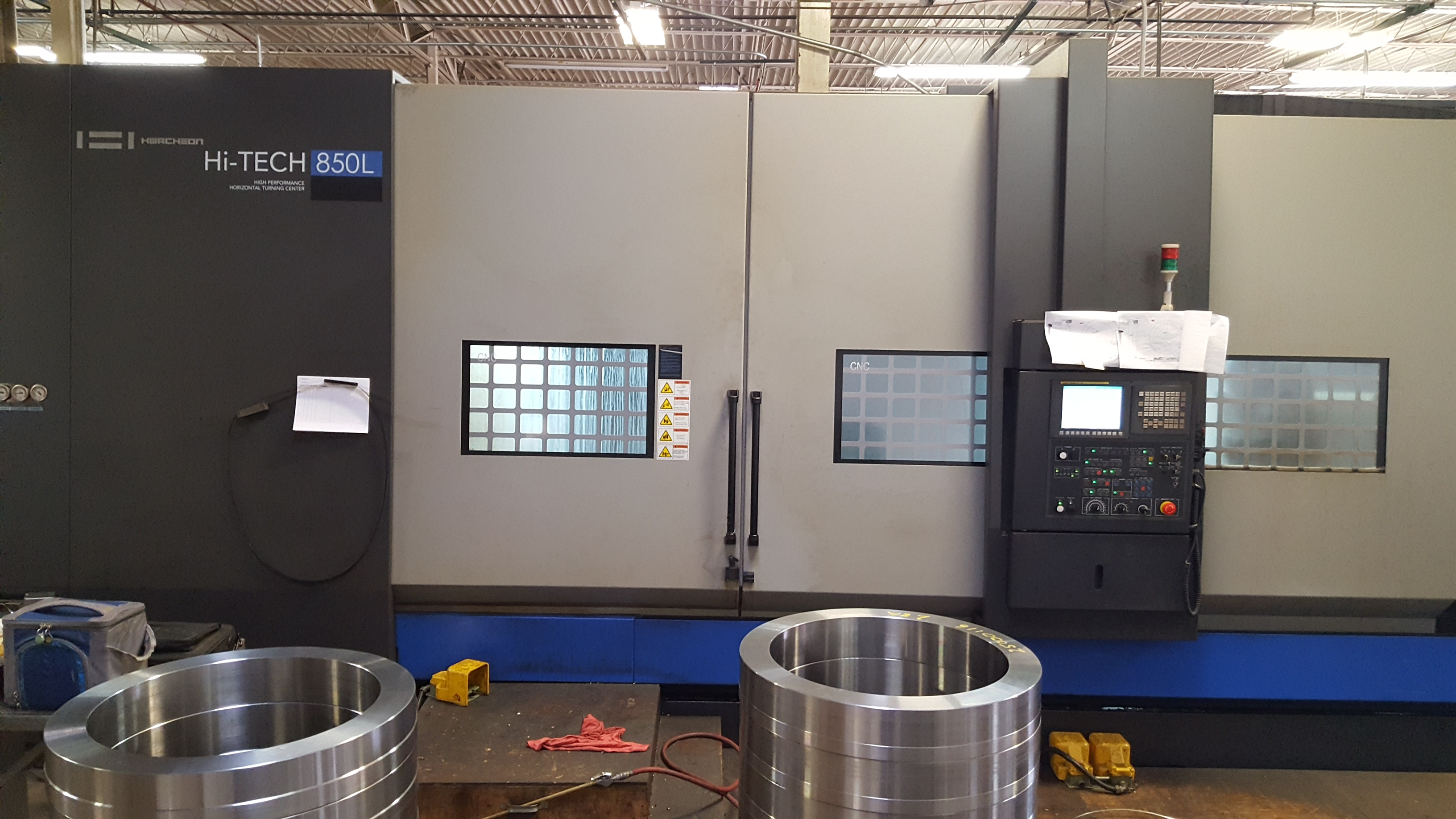 Hwacheon 850L