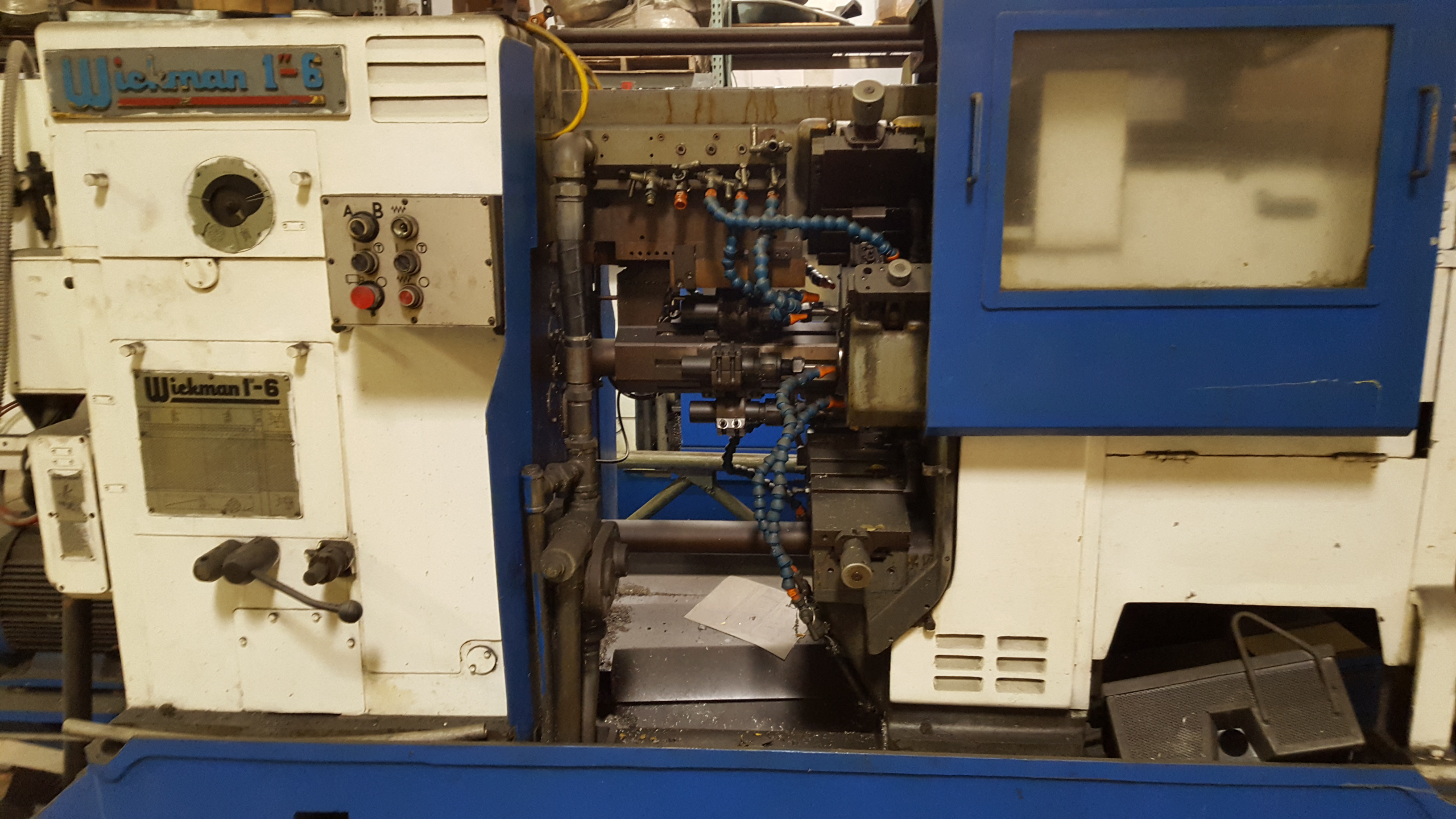 "Wickman 1""-6 Screw Machine"